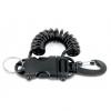 Best Divers - Einzugsspirale mit Karabiner/Clip estensibile