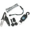Scubapro - Set Lampe+Messer+Retractor/Kit torcia+coltello+retractor