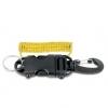 Best Divers - Einzugsspirale mit Karabiner/Clip estensibile con moschettone
